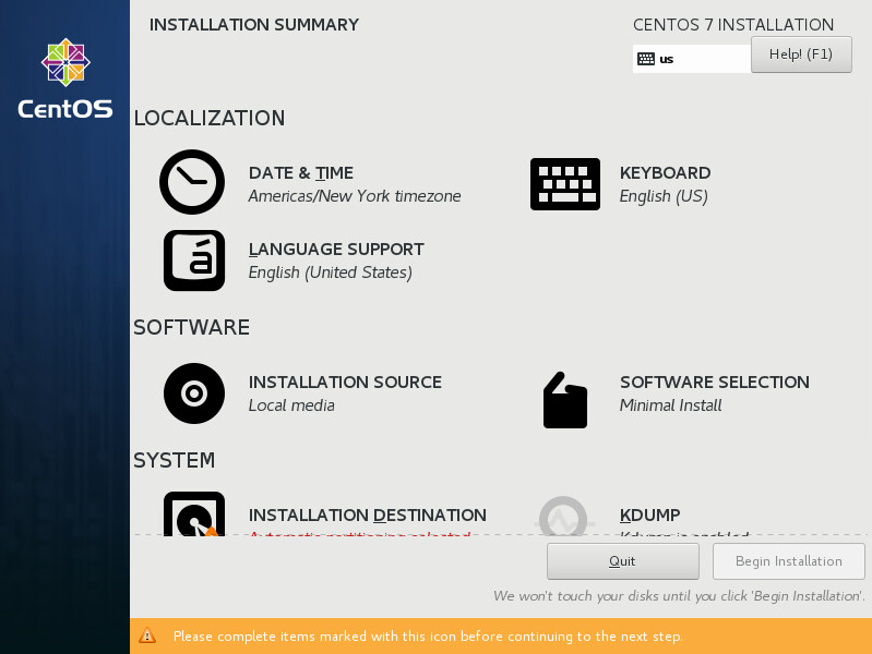 Quick Installation Guide :: CentOS Docs Site